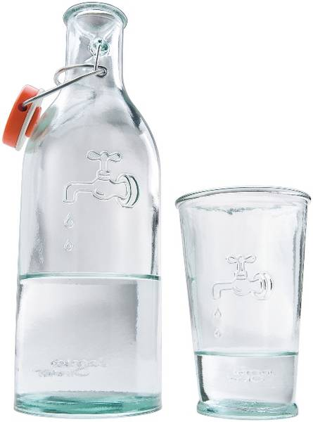 Promotional Jamie Oliver Water Carafe With Glass │ Jamie