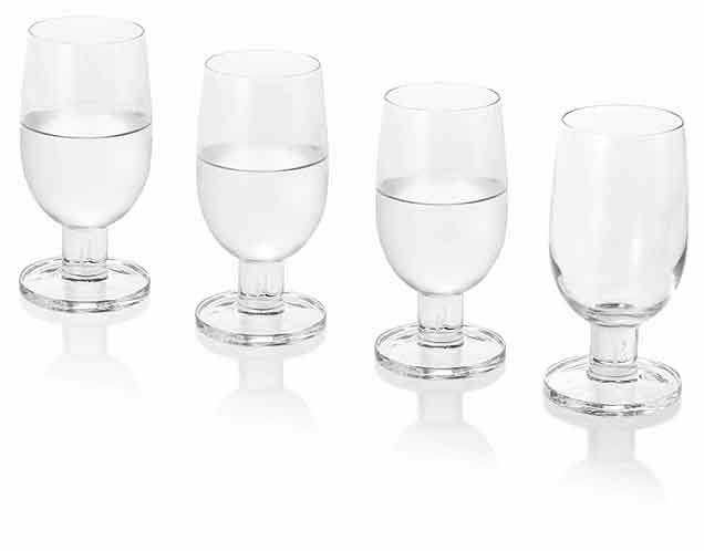 Promotional 4 Water Glasses Jamie Oliver │ Jamie Oliver