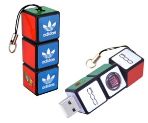 rubiks cube flash drive